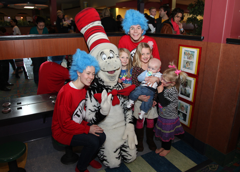 Meet Cat in the Hat at Paradise Park @ Paradise Park  | Lee's Summit | Missouri | United States