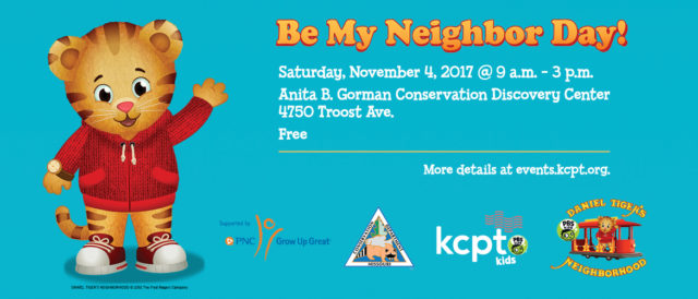 Be My Neighbor Day @ Anita B. Gorman Conservation Discovery Center | Kansas City | Missouri | United States