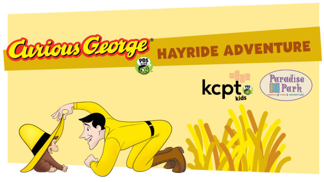 Meet Curious George and The Man In The Yellow Hat at Paradise Park! @ Paradise Park   Lee's Summit   Missouri   United States