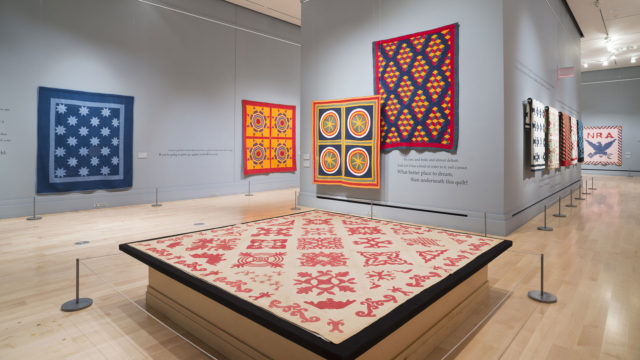 "Quilts Exhibition Tour featuring ""Uncovered: The Ken Burns Collection"" @ International Quilt Study Center & Museum 