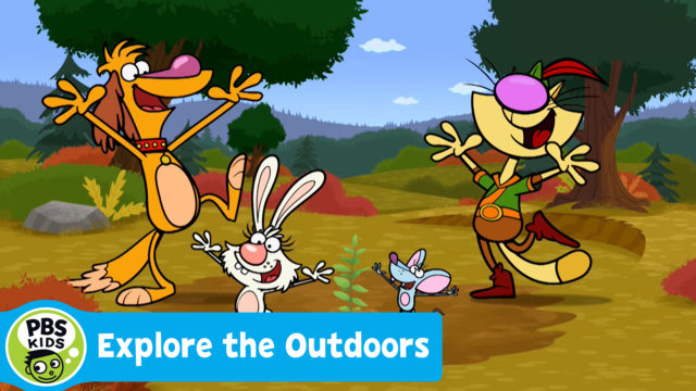 Explore the Outdoors | Screening, Activities and Appearance by Nature Cat! @ Mr. & Mrs. F. L. Schlagle Library and Environmental Learning Center