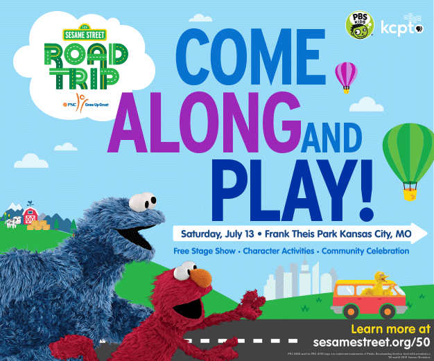 Sesame Street Road Trip @ Frank A. Theis Park | Kansas City | Missouri | United States