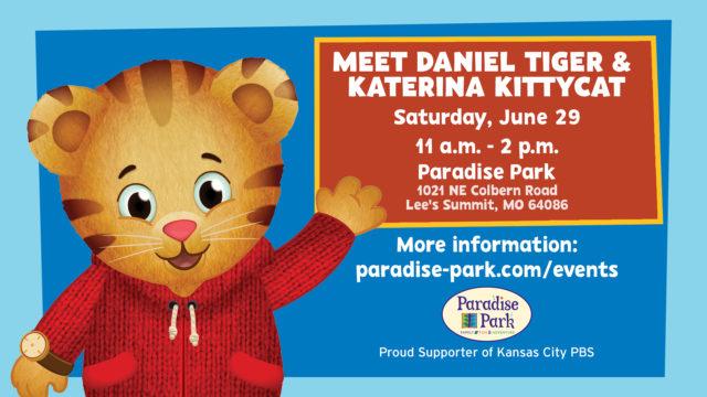 Meet Daniel Tiger & Katerina Kittycat at Paradise Park @ Paradise Park | Lee's Summit | Missouri | United States