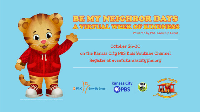 Be My Neighbor Days: A Virtual Week of Kindness @ Kansas City PBS Kids YouTube Channel