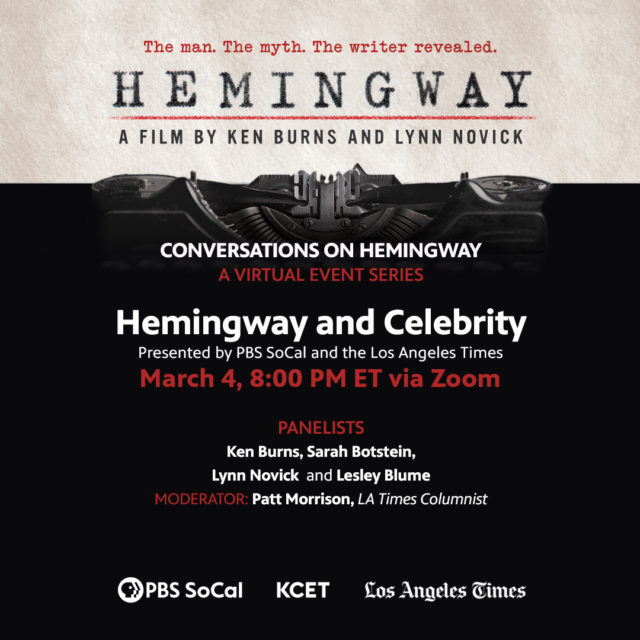 Hemingway and Celebrity