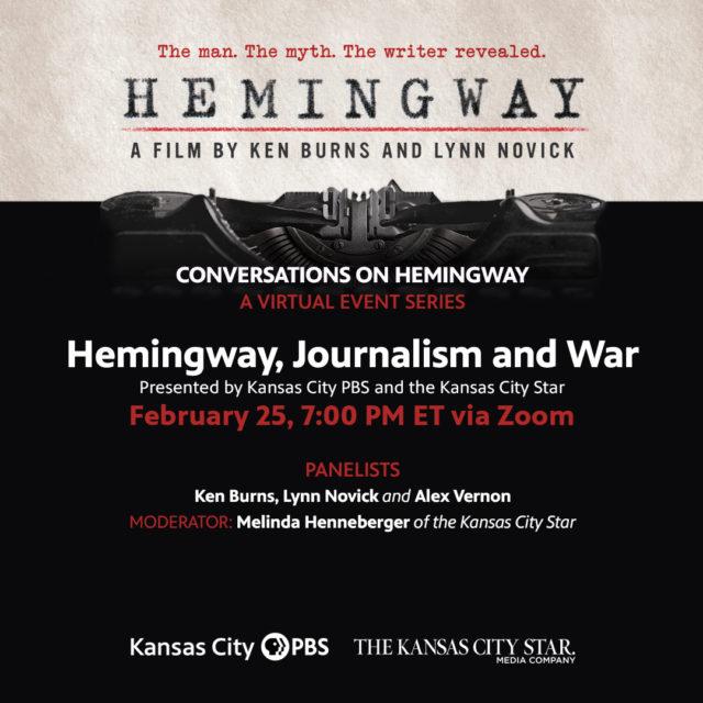 Hemingway, Journalism & War